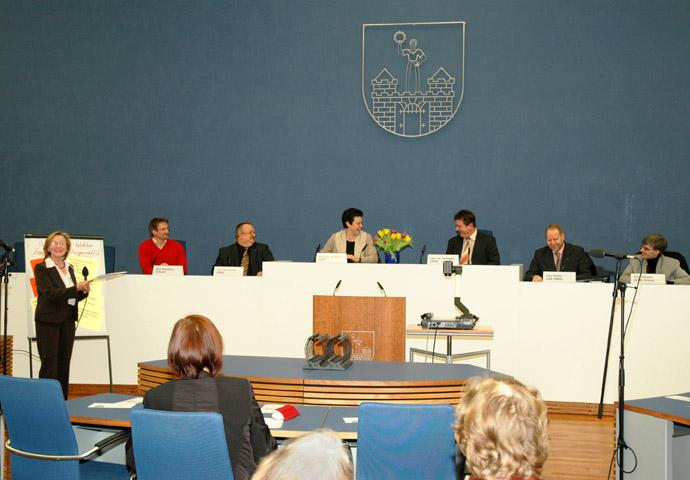 2008 Politischer Runder Tisch in Magdeburg